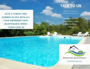 New Pool Services by Charente Assistance in 2019!